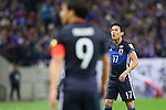 Makoto Hasebe (JPN), <br /> MARCH 29, 2016 - Football / Soccer : <br /> FIFA World Cup Russia 2018 Asian Qualifier Second Round Group E match between<br /> Japan - Syria <br /> at Saitama Stadium 2002 in Saitama, Japan.<br /> (Photo by Yohei Osada/AFLO SPORT)