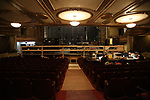 Palace Theater enterior during the Central Academy of Drama: Professors tour The Palace Theatre on September 25, 2017 at the The Palace Theatre in New York City.