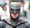 London Super Comic Con<br /> at Design Centre Islington, London, Great Britain <br /> 25th August 2017 <br /> <br /> Batman<br /> <br /> Shaun Campbell as Batman <br /> <br /> London Super Comic Con plays host to the latest comics, comic related memorabilia, superheroes and graphic novels fans have a chance to interact with their favourite creators, and  exhibitors showcasing items from comics to Cosplay, original art to toys.<br /> <br /> <br /> <br /> <br /> <br /> <br /> Photograph by Elliott Franks <br /> Image licensed to Elliott Franks Photography Services