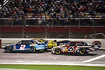 Oct 11, 2008; 10:03:05 PM;  Concord, NC, USA; Nascar Sprint Cup Series for the Bank of America 500  at Lowe's Motor Speedway. Mandatory Credit: Joey Millard