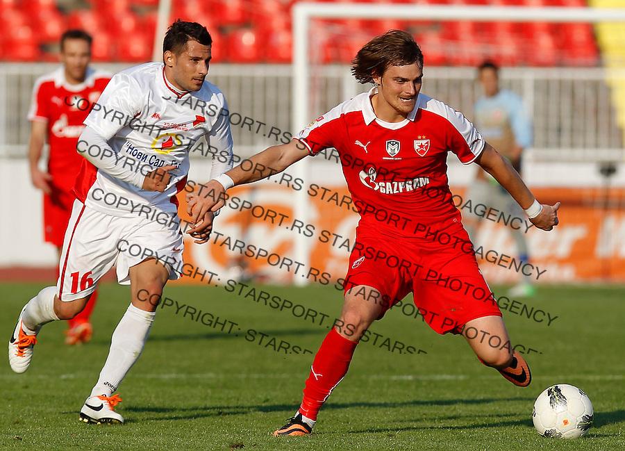 Fudbal Kup Srbije season 2013-2014<br /> Proleter Novi Sad v Crvena Zvezda<br /> Nejc Pecnik<br /> Novi Sad, 25.09.2013.<br /> foto: Srdjan Stevanovic/Starsportphoto &copy;