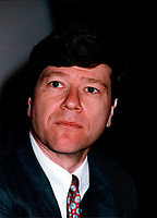 File, Montreal (Quebec) CANADA<br /> <br /> Jeffrey Sachs, Economist<br /> Photo (c) 1997 Pierre Roussel/ Images Distribution