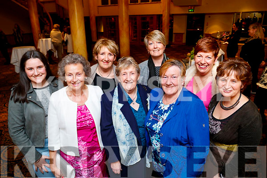 Muireann Dowling, Carmel Quilter O'Neill, Breda Dowling, Nellie Horgan, Majella Stack, Josie Stack, Nuala Horgan and Jane Behan, pictured at the Dunnes Stores and Paul Galvin Shelby Autumn Winter Fashion Show, held at the Brandon Hotel, Tralee on Friday night last.