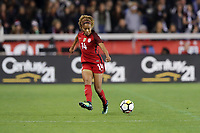San Jose, CA - November 12, 2017: The USWNT defeats Canada 3-1 in an international friendly at Avaya Stadium.