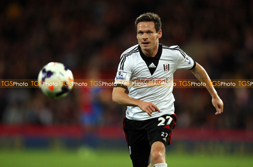 Sascha Riether of Fulham - Crystal Palace vs Fulham, Barclays Premier League at Selhurst Park, Crystal Palace - 21/10/13 - MANDATORY CREDIT: Rob Newell/TGSPHOTO - Self billing applies where appropriate - 0845 094 6026 - contact@tgsphoto.co.uk - NO UNPAID USE