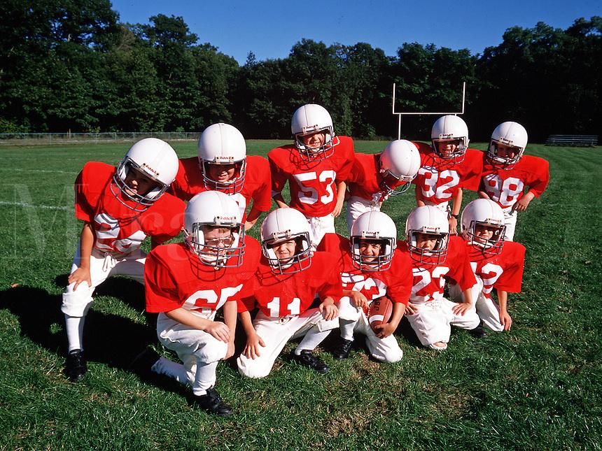 children's football team.