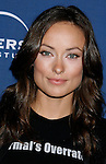 "LOS ANGELES, CA. - January 21: Actress Olivia Wilde arrives at the ""House"" 100th episode party and NAMI charity celebration held at STK on January 21st, 2009 in Los Angeles, California."