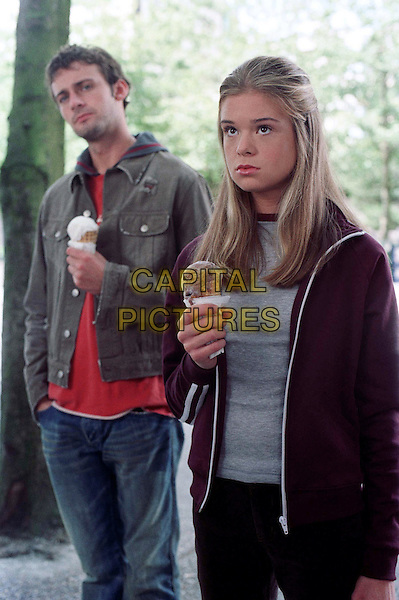 DEAD LIKE ME    TV SERIES, 2003.CALLUM BLUE.ELLEN MUTH.Filmstill - Editorial Use Only.Ref: FB.sales@capitalpictures.com.www.capitalpictures.com.Supplied by Capital Pictures.