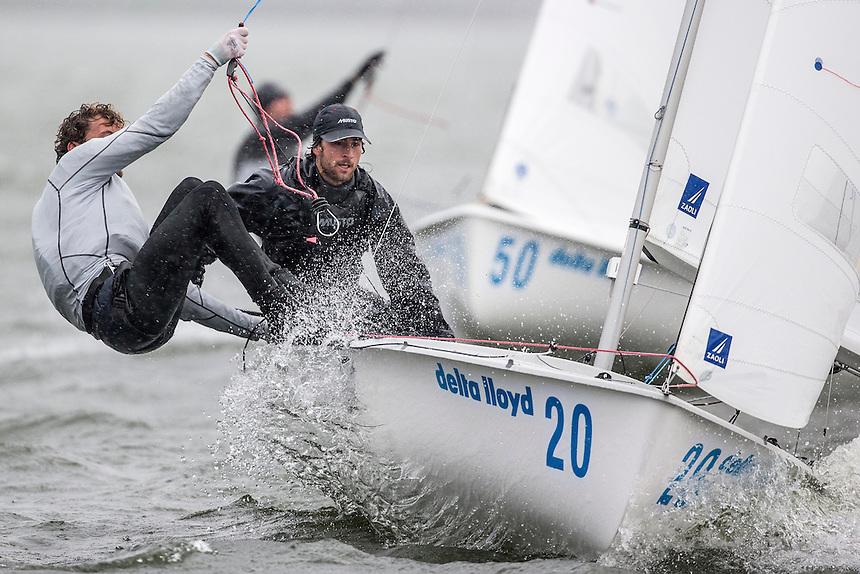 Medal Race 470 MEN. Johan Molund and Sebastian Östling have won the Delta Lloyd Regatta  2015 in the 470 MEN (26/30 May 2015). Medemblik - the Netherlands.