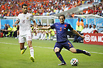 (L-R) Sergio Busquets (ESP), Daley Blind (NED), JUN 13, 2014 - Football / Soccer : FIFA World Cup Brasil<br /> match between Spain and Netherlands at the Arena Fonte Nova in Salvador de Bahia, Brasil. (Photo by AFLO) [3604]