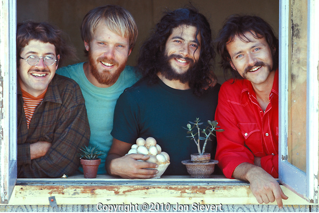 "Youngbloods, 1971. Michael Kane, Joe Bauer, Lowell Levinger (Banana), Jesse Colin Young. The Youngbloods was an American folk rock band originally consisting of Jesse Colin Young (vocals, bass), Jerry Corbitt (lead guitar), Lowell Levinger (rhythm guitar), and Joe Bauer (drums). Despite receiving critical acclaim, they never achieved widespread popularity. Their only U.S. Top 40 entry was ""Get Together""."