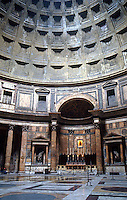 Rome: Pantheon--Interior. (Rotunda)