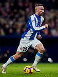 Sergi Darder Moll, S Darder, of RCD Espanyol in action during the La Liga 2018-19 match between Atletico de Madrid and RCD Espanyol at Wanda Metropolitano on December 22 2018 in Madrid, Spain. Photo by Diego Souto / Power Sport Images