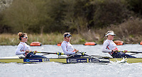 Caversham. Berkshire. UK<br /> left to right, Karen BENNETT, Mel WILSON and Frances HOUGHTON. GBR W8+.<br /> 2016 GBRowing European Team Announcement,  <br /> <br /> Wednesday  06/04/2016 <br /> <br /> [Mandatory Credit; Peter SPURRIER/Intersport-images]