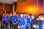 St Mary's Captain Sean Cournane and team mates at the homecoming on Sunday night.