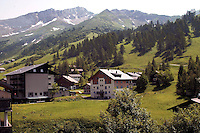 Liechtenstein  Malbun  June 2008.Small town high in the Alpine (southeastern)...
