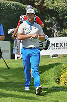 Jon Rahm (ESP) departs the second tee during round 3 of the World Golf Championships, Mexico, Club De Golf Chapultepec, Mexico City, Mexico. 3/3/2018.<br /> Picture: Golffile | Ken Murray<br /> <br /> <br /> All photo usage must carry mandatory copyright credit (&copy; Golffile | Ken Murray)