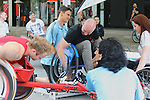 Public Race on Rollers event, City Walk Canberra