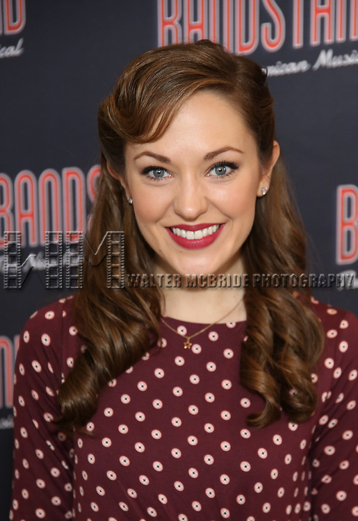 Laura Osnes attends the 'Bandstand' Broadway cast photo call at the Rainbow Room on March 7, 2017 in New York City.