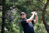 4th June 2017, Dublin, OH, USA;  Jason Kokrak tees off on the second hole during the Memorial Tournament - Final Round at Muirfield Village Golf Club in Dublin, Ohio