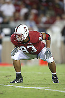 16 September 2006: Matt Kopa during Stanford's 37-9 loss to Navy during the grand opening of the new Stanford Stadium in Stanford, CA.