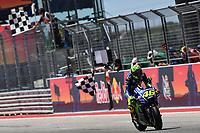 Austin (Stati Uniti) 23/04/2017 - gara Moto GP / foto Luca Gambuti/Image Sport/Insidefoto<br /> nella foto: Valentino Rossi