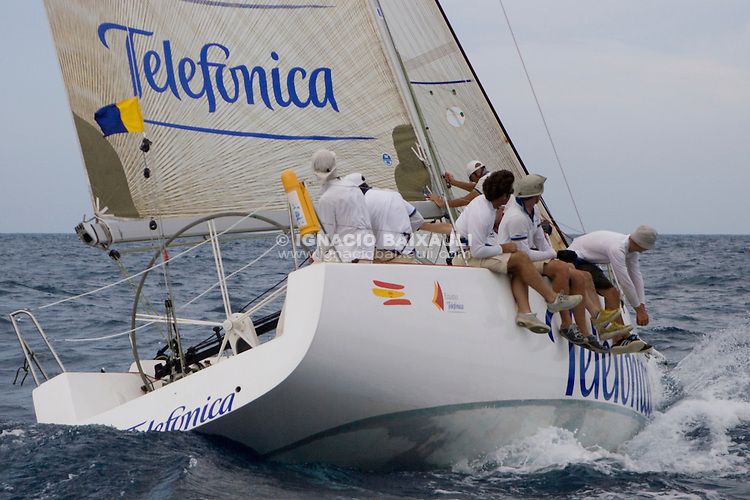 .TELEFONICA - ATRIVM.RCNV.TELEFONICA - ATRIVM.ESP 8377 .JV 37.ENRIQUE TEROL .XIV TROFEO TABARCA CIUDAD DE ALICANTE.Real Club de Regatas de Alicante, 9 al 12 de Julio de 2009