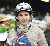 Budding star Freddy Lenclud takes the opening day Schuylerville aboard Le Mi Geaux.
