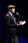 Peter Lerman on stage during the Vineyard Theatre Gala 2018 honoring Michael Mayer at the Edison Ballroom on May 14, 2018 in New York City.