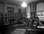 Pittsburgh PA:  View of the President's office at Duquesne University - 1932