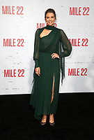 "WESTWOOD, CA - AUGUST 9: Lauren Cohan, at Premiere Of STX Films' ""Mile 22"" at The Regency Village Theatre in Westwood, California on August 9, 2018. Credit: Faye Sadou/MediaPunch"