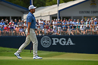 Jason Day (AUS) watches his putt on 9 during 4th round of the 100th PGA Championship at Bellerive Country Club, St. Louis, Missouri. 8/12/2018.<br /> Picture: Golffile | Ken Murray<br /> <br /> All photo usage must carry mandatory copyright credit (&copy; Golffile | Ken Murray)