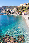 The seaside town of Monterosso al Mare is one of the 5 towns of Cinque Terre in the Liguria region of Italy.
