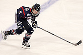 Nora Maclaine (UConn - 6) - The Boston College Eagles defeated the visiting UConn Huskies 4-0 on Friday, October 30, 2015, at Kelley Rink in Conte Forum in Chestnut Hill, Massachusetts.