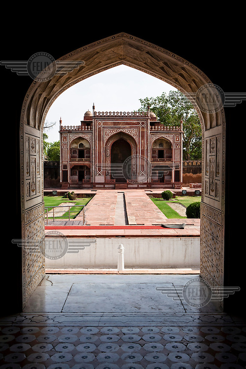 The tomb of Itmad-Ud-Daulah, popularly known as the Baby Taj.