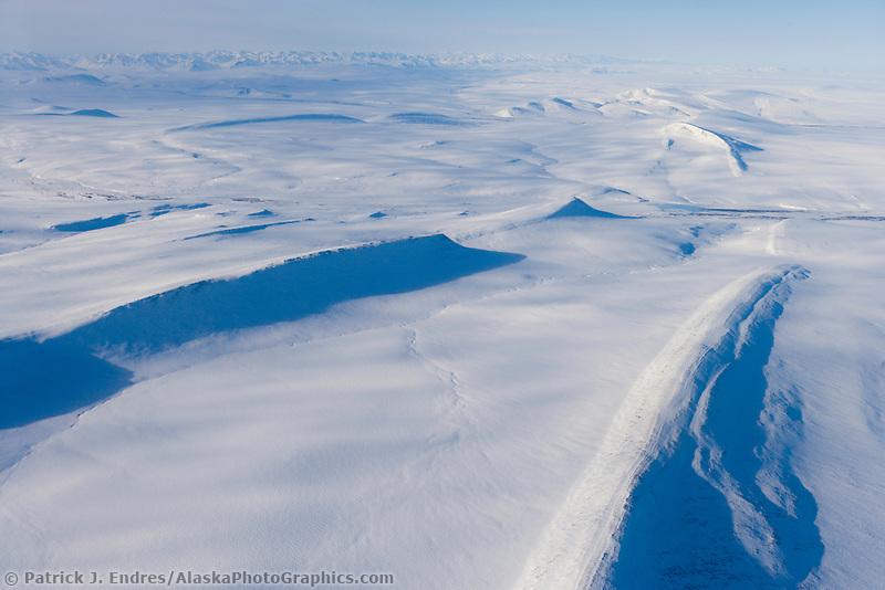 Nanushuk River, Northern foothills of the Brooks mountain range, Arctic north slope, Alaska.