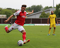 Fleetwood Town's Wes Burns in action<br /> <br /> Photographer David Shipman/CameraSport<br /> <br /> The EFL Sky Bet League One - Oxford United v Fleetwood Town - Saturday August 11th 2018 - Kassam Stadium - Oxford<br /> <br /> World Copyright &copy; 2018 CameraSport. All rights reserved. 43 Linden Ave. Countesthorpe. Leicester. England. LE8 5PG - Tel: +44 (0) 116 277 4147 - admin@camerasport.com - www.camerasport.com