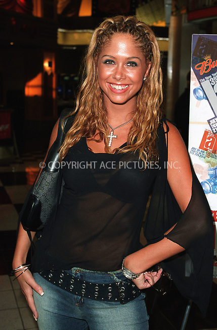 "Singer Samantha Cole at the opening of the 3Rd Annual New York International Latino Film Festival and the premiere of ""Empire."" New York, July 31, 2002. Please byline: Alecsey Boldeskul/NY Photo Press.   ..*PAY-PER-USE*      ....NY Photo Press:  ..phone (646) 267-6913;   ..e-mail: info@nyphotopress.com"
