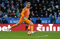 Leicester City's Kasper Schmeichel<br /> <br /> Photographer Hannah Fountain/CameraSport<br /> <br /> The Premier League - Leicester City v Manchester United - Sunday 3rd February 2019 - King Power Stadium - Leicester<br /> <br /> World Copyright © 2019 CameraSport. All rights reserved. 43 Linden Ave. Countesthorpe. Leicester. England. LE8 5PG - Tel: +44 (0) 116 277 4147 - admin@camerasport.com - www.camerasport.com