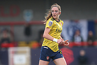 Lisa Evans of Arsenal during Brighton & Hove Albion Women vs Arsenal Women, Barclays FA Women's Super League Football at Broadfield Stadium on 12th January 2020