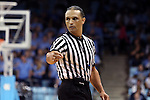 03 February 2013: Referee Billy Smith. The University of North Carolina Tar Heels played the Duke University Blue Devils at Carmichael Arena in Chapel Hill, North Carolina in an NCAA Division I Women's Basketball game. Duke won the game 84-63.
