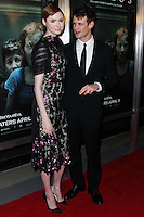 """HOLLYWOOD, LOS ANGELES, CA, USA - APRIL 03: Karen Gillan, Matt Smith at the Los Angeles Screening Of Relativity Media's """"Oculus"""" held at TCL Chinese 6 Theatre on April 3, 2014 in Hollywood, Los Angeles, California, United States. (Photo by Xavier Collin/Celebrity Monitor)"""