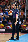 Referee during the  match of the preparation for the Rio Olympic Game at Madrid Arena. July 23, 2016. (ALTERPHOTOS/BorjaB.Hojas)