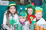 FLOAT: Sharon Howe, Katie Howe, Louise Kelleher and Aaron OShea at the Milltown St Patricks Day Parade..