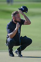 Tyrrell Hatton (ENG) looks over his putt on 1 during round 3 of the Arnold Palmer Invitational at Bay Hill Golf Club, Bay Hill, Florida. 3/9/2019.<br /> Picture: Golffile | Ken Murray<br /> <br /> <br /> All photo usage must carry mandatory copyright credit (&copy; Golffile | Ken Murray)