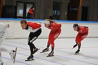 SCHAATSEN: LEEUWARDEN: 20-06-2016, ELFSTEDENHAL, Training Zomerijs, Noorse schaatsers, ©foto Martin de Jong