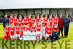 The Best<br /> ------------<br /> West Kerry didn't mind the sun shower as they celebrated their victory over Eoghan Ruadh in the Lee Strand U14 County District Plate Final last Wednesday evening at the John Mitchell's GAA complex inTralee.