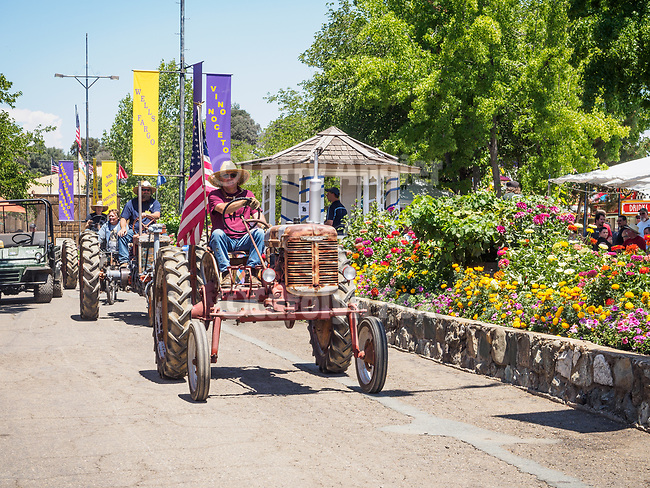 Tractor Parade.<br /> <br /> Day 4 of the 79th Amador County Fair--Junior Livestock Auction, Destruction Derby, exhibits, music and more!<br /> <br /> #AmadorCountyFair, #PlymouthCalifornia,<br /> #TourAmador, #VisitAmador