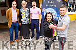 Austin Stacks GAA Club launch their Strictly Come Dancing in the Brogue Inn on Monday.<br /> Front l to r: Daniel Tuohy and Amy Roche.<br /> Back l to r: Malachy Nagle, Mairead Fernane (Chairperson) and Neil O'Shea.