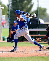 Antonio Jimenez / Kansas City Royals 2008 Instructional League..Photo by:  Bill Mitchell/Four Seam Images